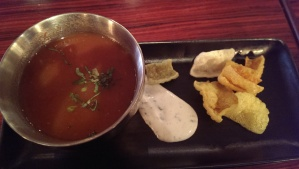 Indian spiced tomato soup
