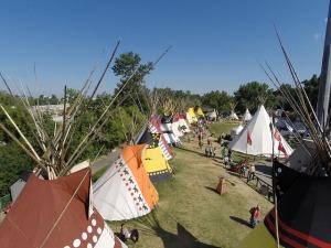 印利安人村莊 Photo Credit: Bill Marsh / Calgary Stampede
