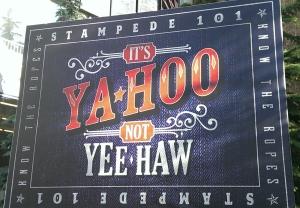 牛仔節廣告刊版