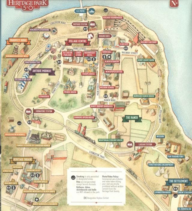heritage park map