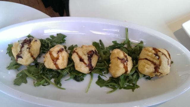 parmesan tempura