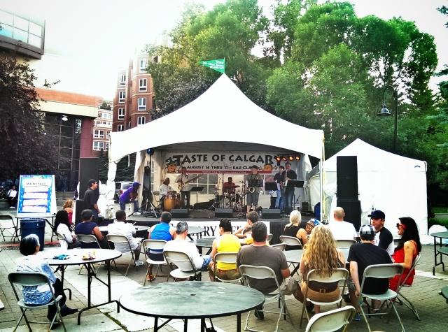 taste of calgary music stage