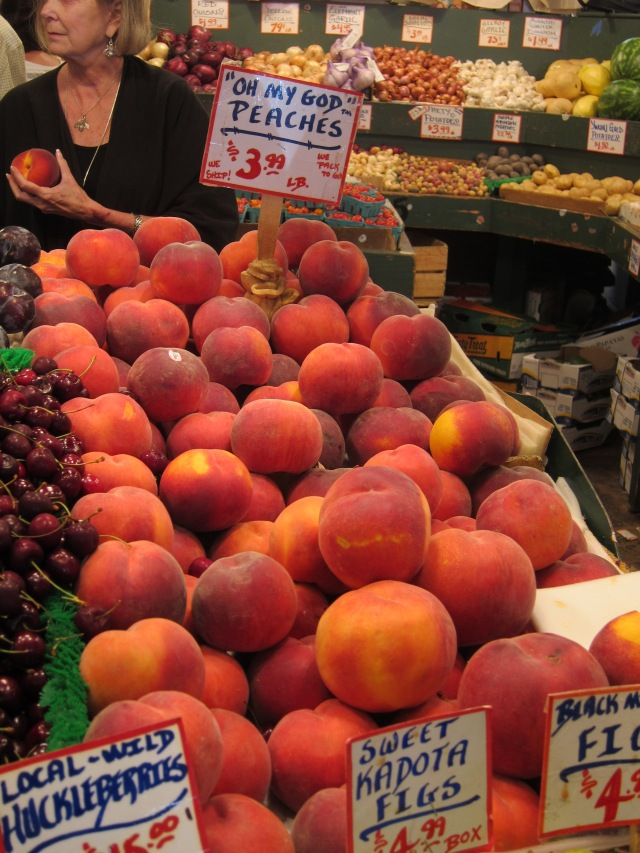 pike place market fruits