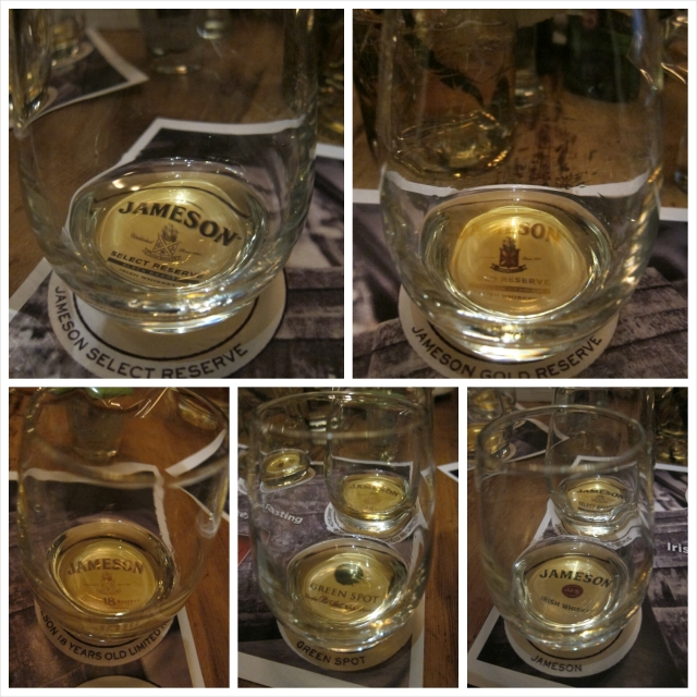 Jameson Original, Select Reserve, Gold Reserve, 18  Years Old Limited Reserve, Green Spot