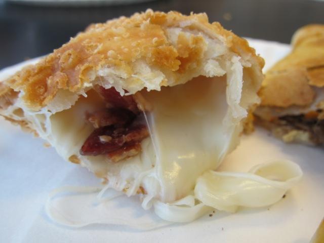 cheese + bacon empanada