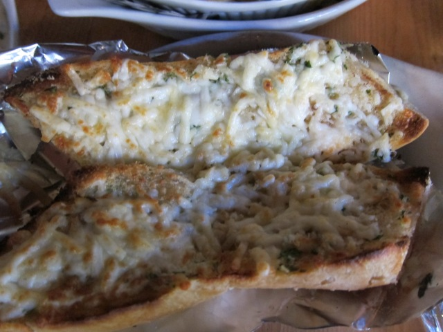 bone marrow cheezy bread